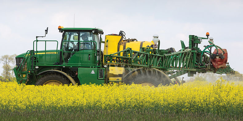 Sprayer in OSR